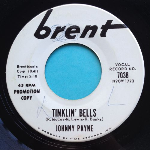 Johnny Payne - Tinklin' bells - Brent promo - Ex