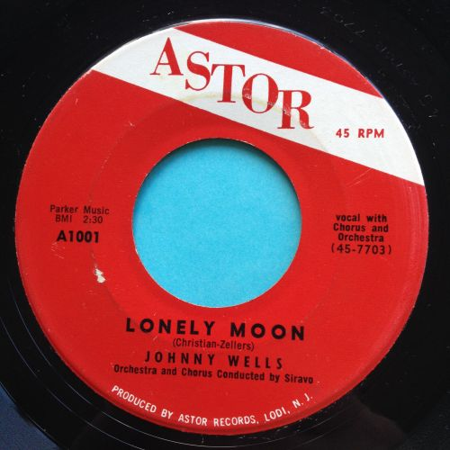 Johnny Wells - Lonely Moon - Astor - Ex-