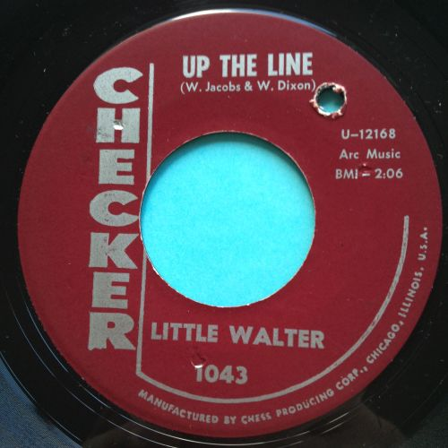Little Walter - Up the line - Checker - Ex