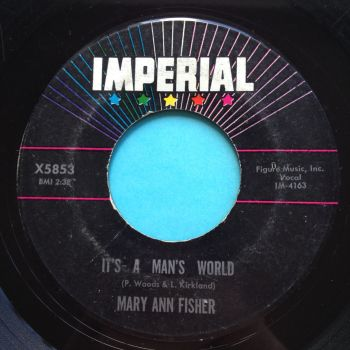 Mary Ann Fisher - It's a mans world - Imperial - VG+