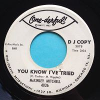 McKinley Mitchell - You know I've tried - One-Derful promo - Ex-