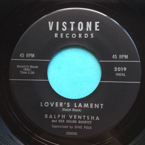Ralph Ventsha - Lovers Lament - Vistone - Ex