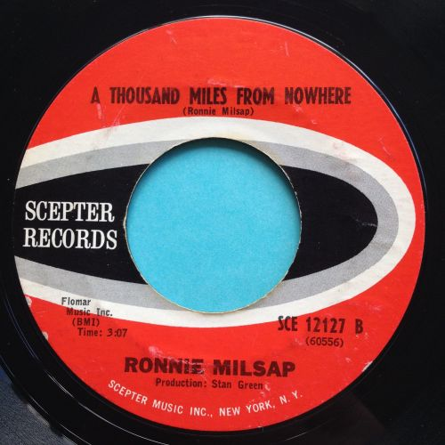 Ronnie Milsap - A thousand miles from nowhere - Scepter - Ex-