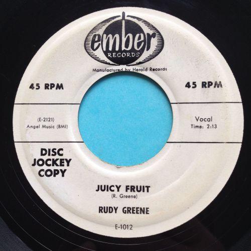 Rudy Greene - Juicy Fruit - Ember promo - VG+