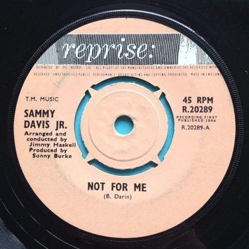 Sammy Davis Jr. - Not for me - UK Reprise - Ex