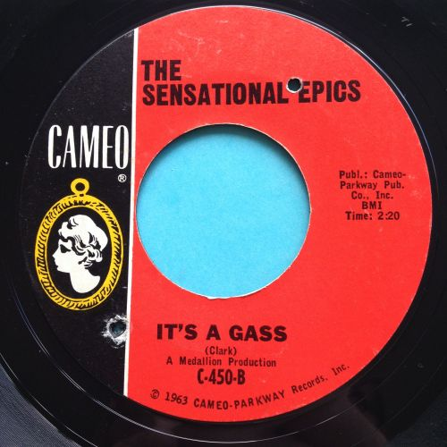 Sensational Epics - It's a gass - Cameo - Ex