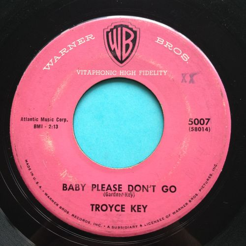 Troyce Key - Baby please don't go - WB - VG+