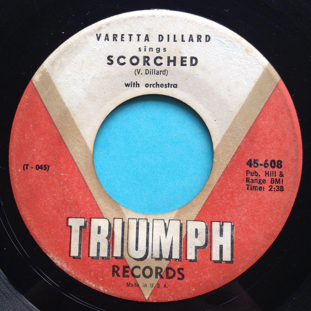 Varetta Dillard - Scorched - Triumph - VG+