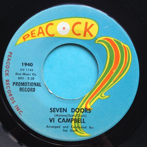 Vi Campbell - Seven Doors - Peacock - VG+