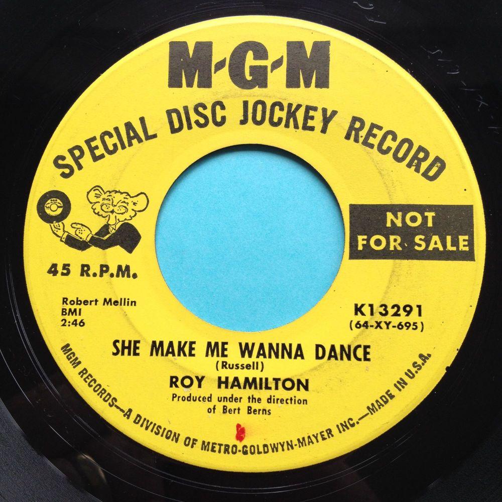 Roy Hamilton - She make me wanna dance - MGM promo - Ex