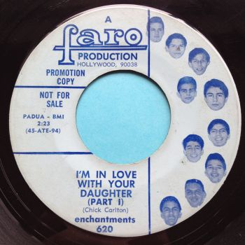 Enchantments - I'm in love with your daughter - Faro promo - VG+