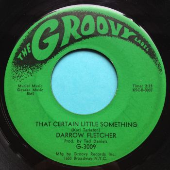 Darrow Fletcher - That certain little something - Groovy - VG+