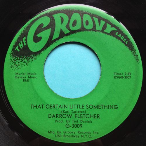 Darrow Fletcher - That certain little something - Groovy - VG+