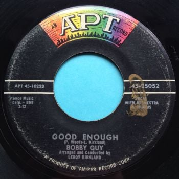 Bobby Guy - Good enough - APT - VG+ (slight edge warp - nap)