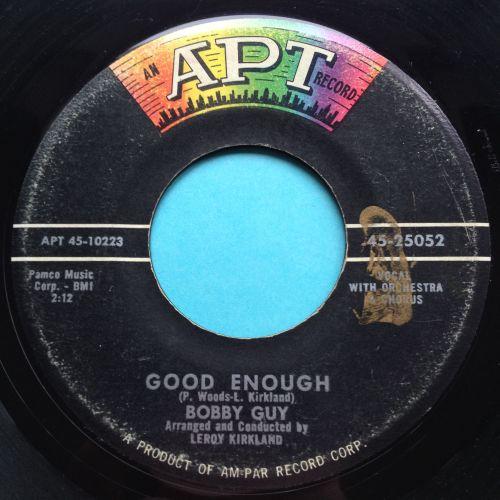 Bobby Guy - Good enough - APT - VG+ (slight edge warp - nap)