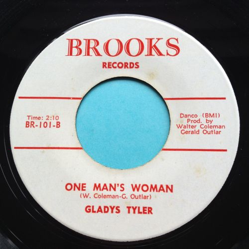 Gladys Tyler - One man's woman - Brooks - Ex