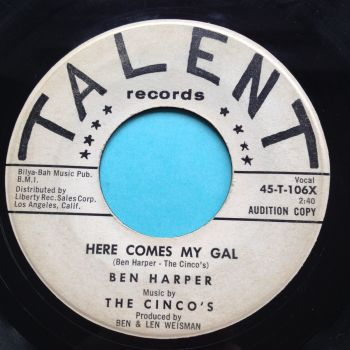 Ben Harper - Here comes my gal - Talent promo - VG+