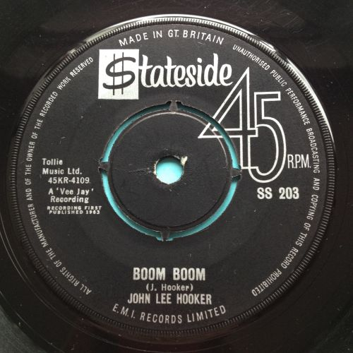 John Lee Hooker - Boom Boom - UK Stateside - Ex-