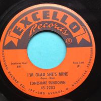 Lonesome sundown - I'm glad she's mine - Excello - Ex-