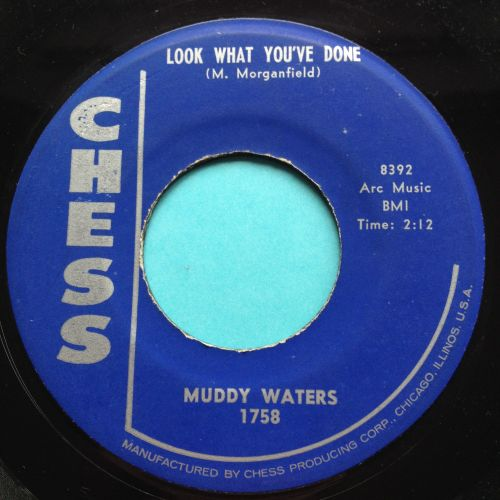 Muddy Waters - Look what you've done - Chess - VG+