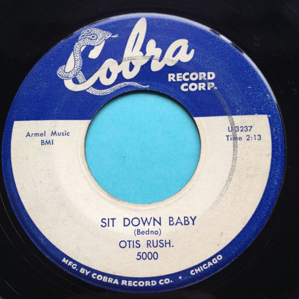 Otis Rush - Sit down baby - Cobra - VG+