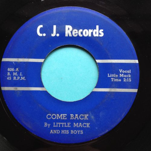 Little Mack - Come back - C.J. - Ex-