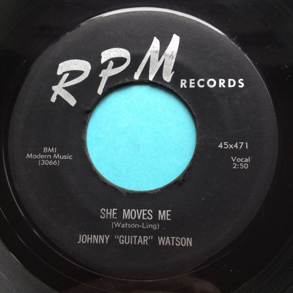 Johnny Guitar Watson - She moves me - RPM - Ex-