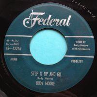Rudy Moore - Step it up and go - Federal - Ex