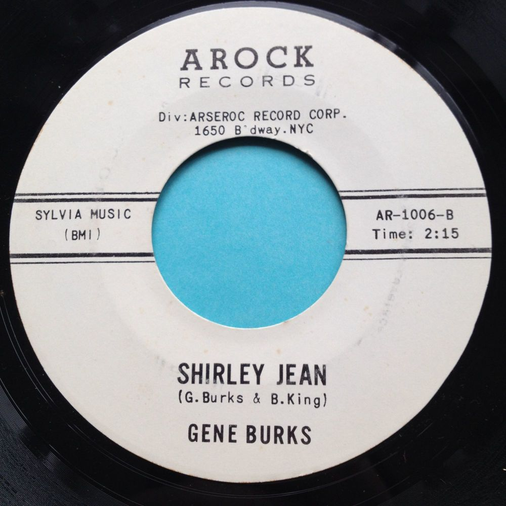 Gene Burks - Shirley Jean - Arock promo - Ex