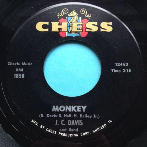 J C Davis - Monkey - Chess - Ex