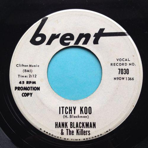 Hank Blackman - Itchy Koo - Brent promo - Ex