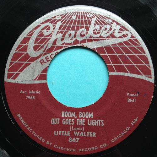 Little Walter - Boom, boom out goes the lights - Checker - VG+