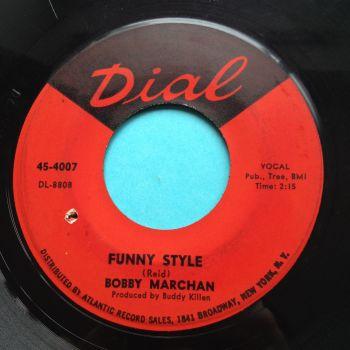 Bobby Marchan - Funny Style - Dial - VG+(slight edge warp - nap)