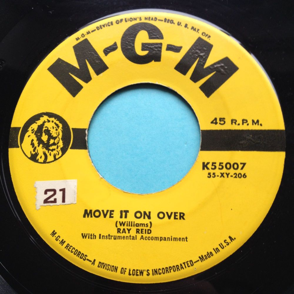 Ray Reid - Move it on over - MGM promo - Ex-
