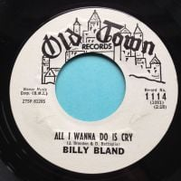 Billy Bland - All I wanna do is cry - Old Town promo - Ex