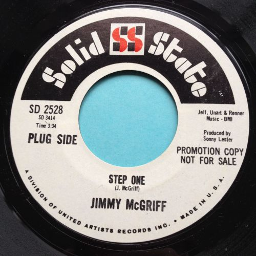 Jimmy McGriff - Step One - Solid State promo - Ex