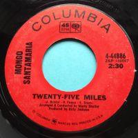 Mongo Santamaria - Twenty five miles - Columbia - Ex