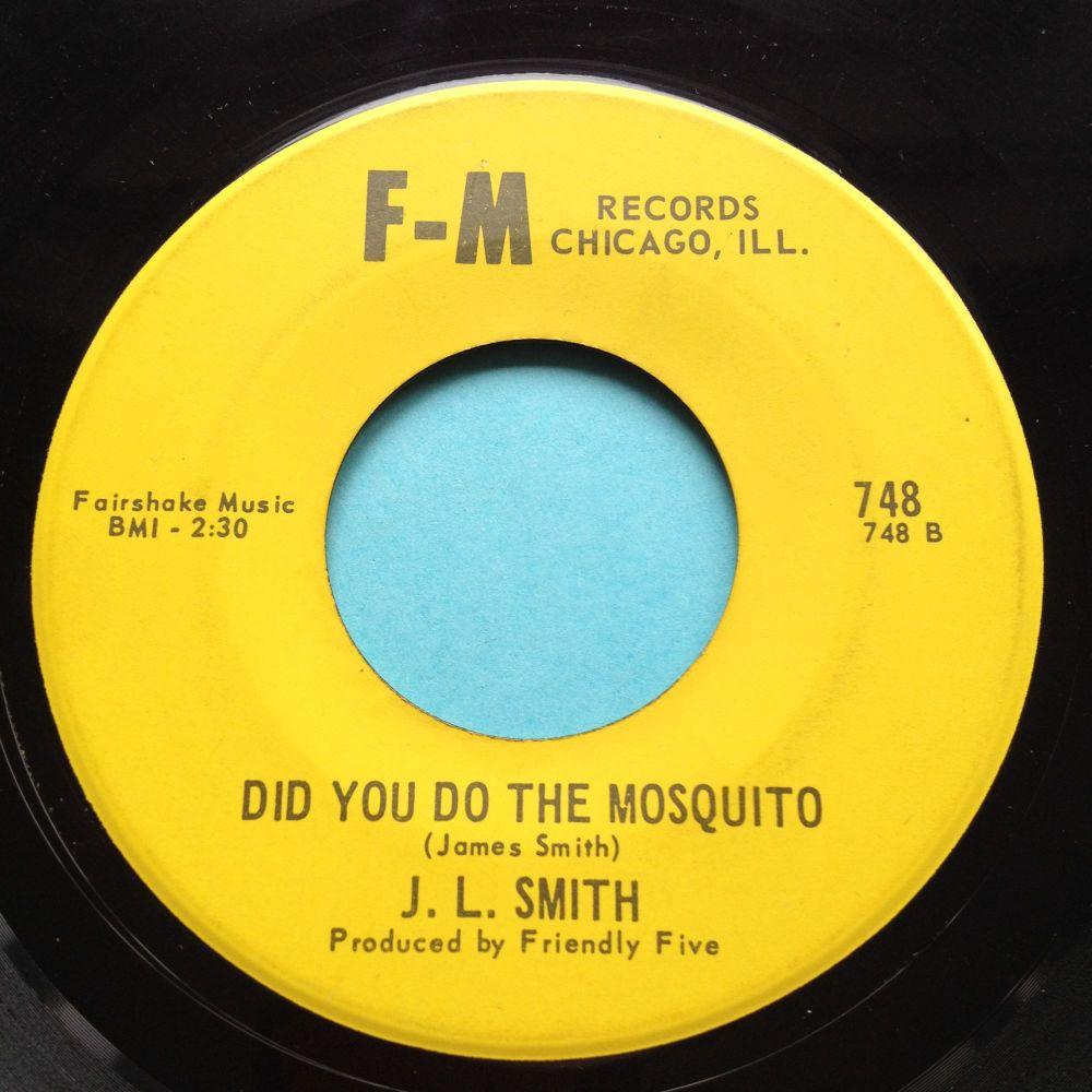J L Smith - Did you do the mosquito b/w Bleeding heart - F-M - Ex-