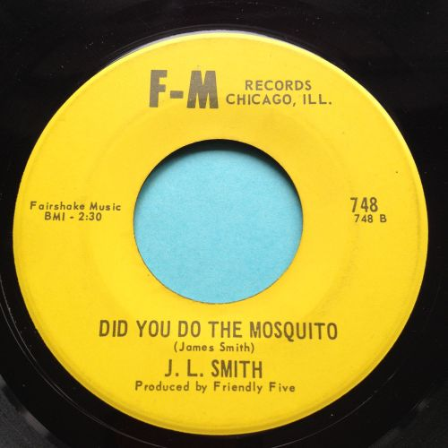 J L Smith - Did you do the mosquito b/w Bleeding heart - F-M - Ex-