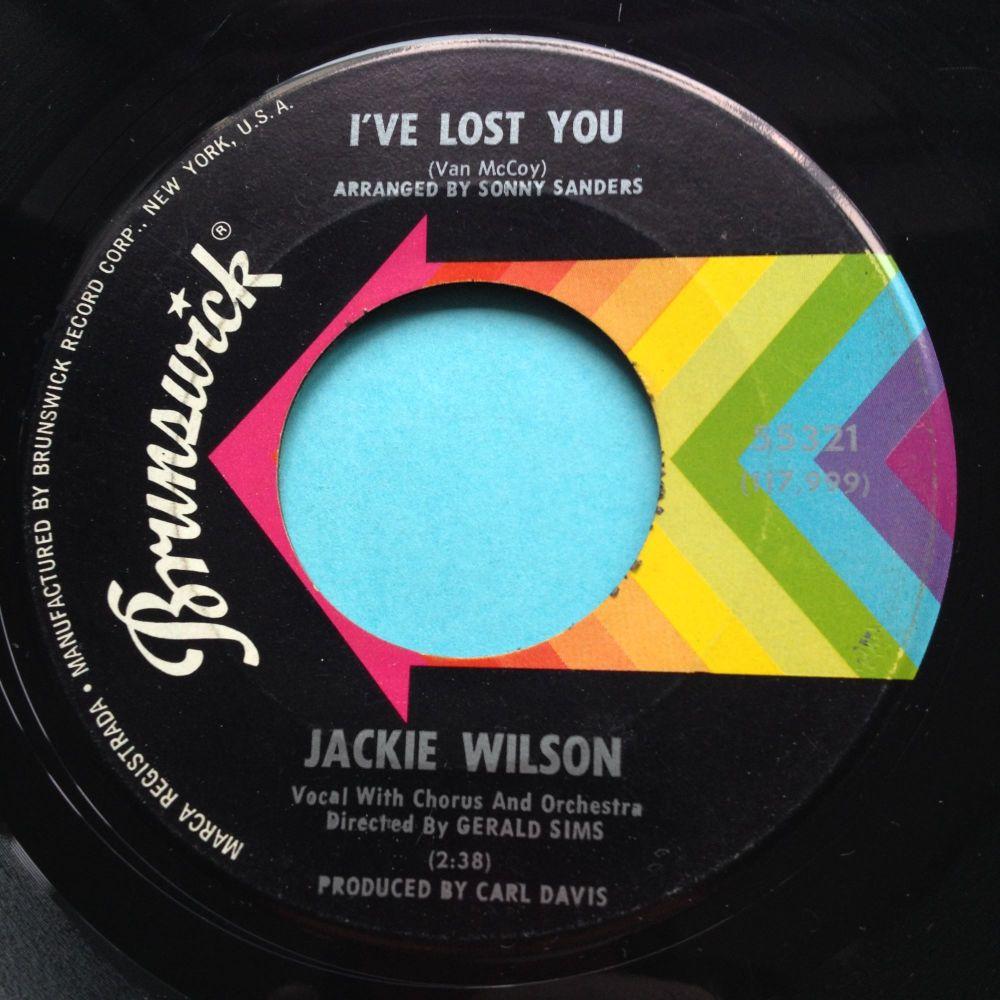 Jackie Wilson - I've lost you - Brunswick - Ex-