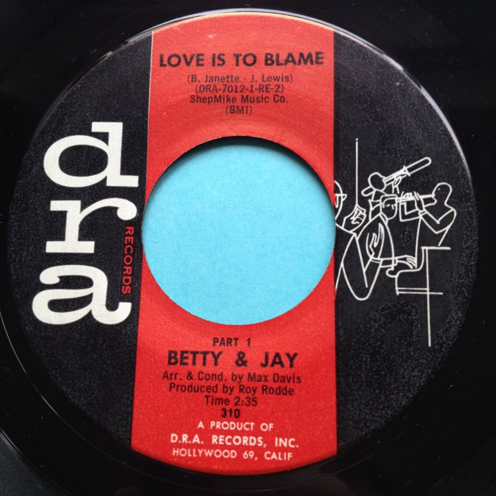 Betty & Jay - Love is to blame - Dra - Ex-