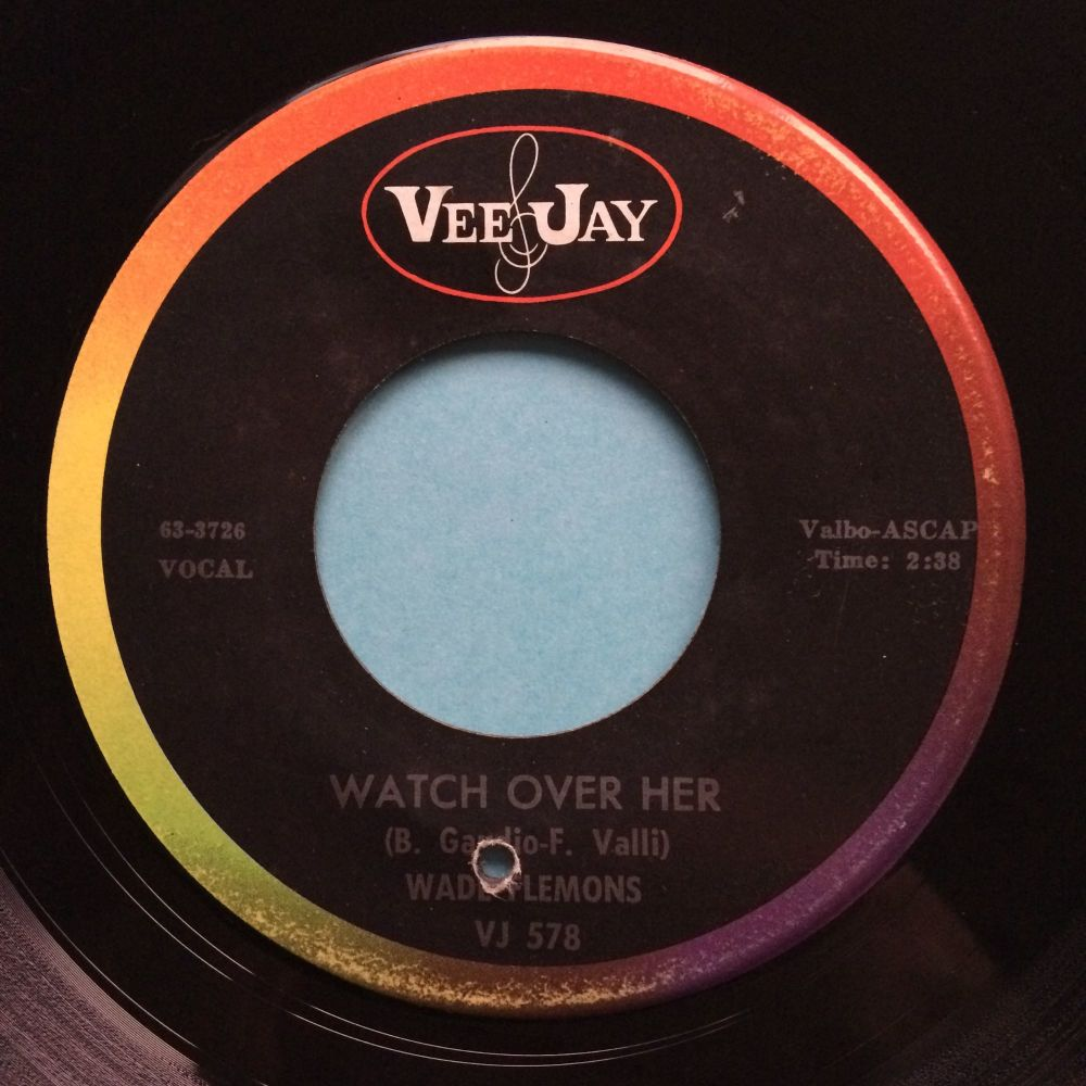 Wade Flemons - Watch over her - VeeJay - Ex