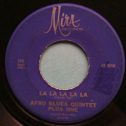 Afro Blues Quintet - La la la la la la - Mira - VG+