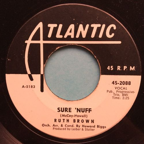 Ruth Brown - Sure 'Nuff - Atlantic promo - Ex
