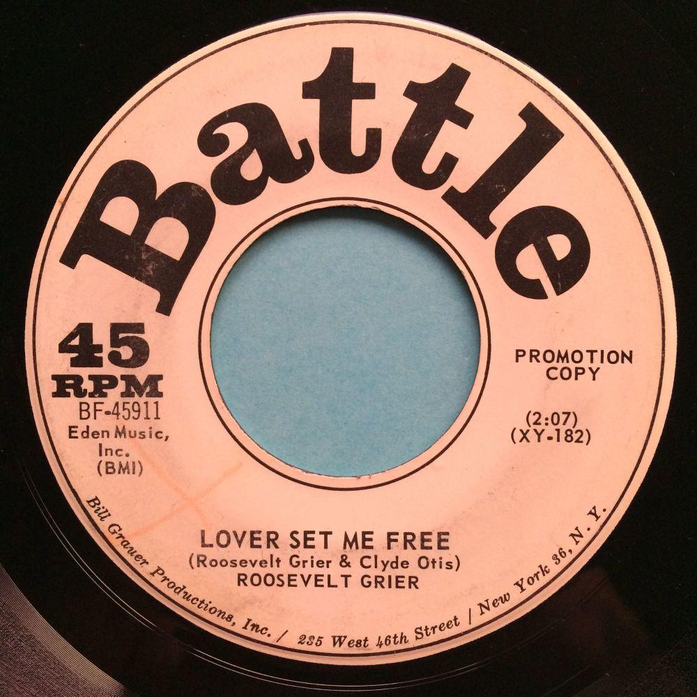 Roosevelt Grier - Lover set me free - Battle promo - VG+