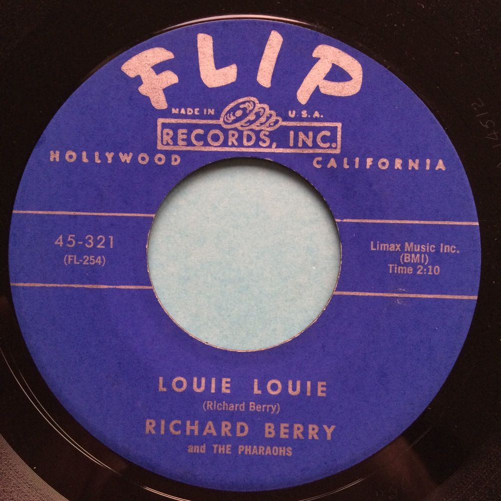 Richard Berry - Louie Louie - Flip - Ex