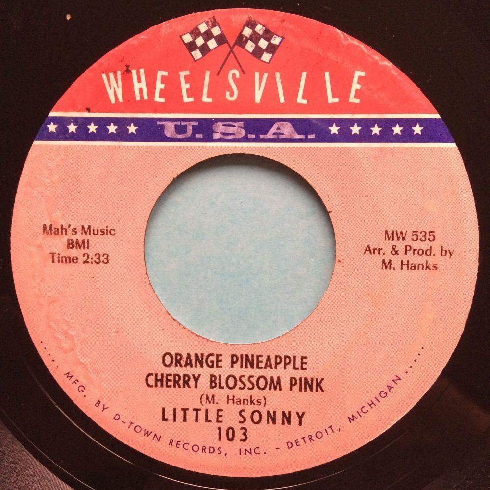 Little Sonny - Orange Pineapple Cherry Blossom Pink - Wheelville - Ex