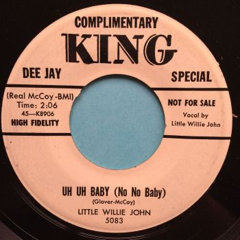 Little Willie John - Uh Uh Baby - King promo - Ex