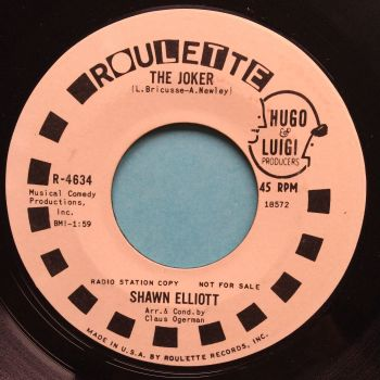 Shawn Elliott - The Joker - Roulette promo - Ex