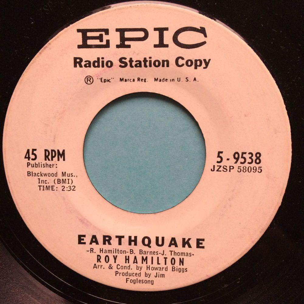 Roy Hamilton - Earthquake - Epic promo - Ex